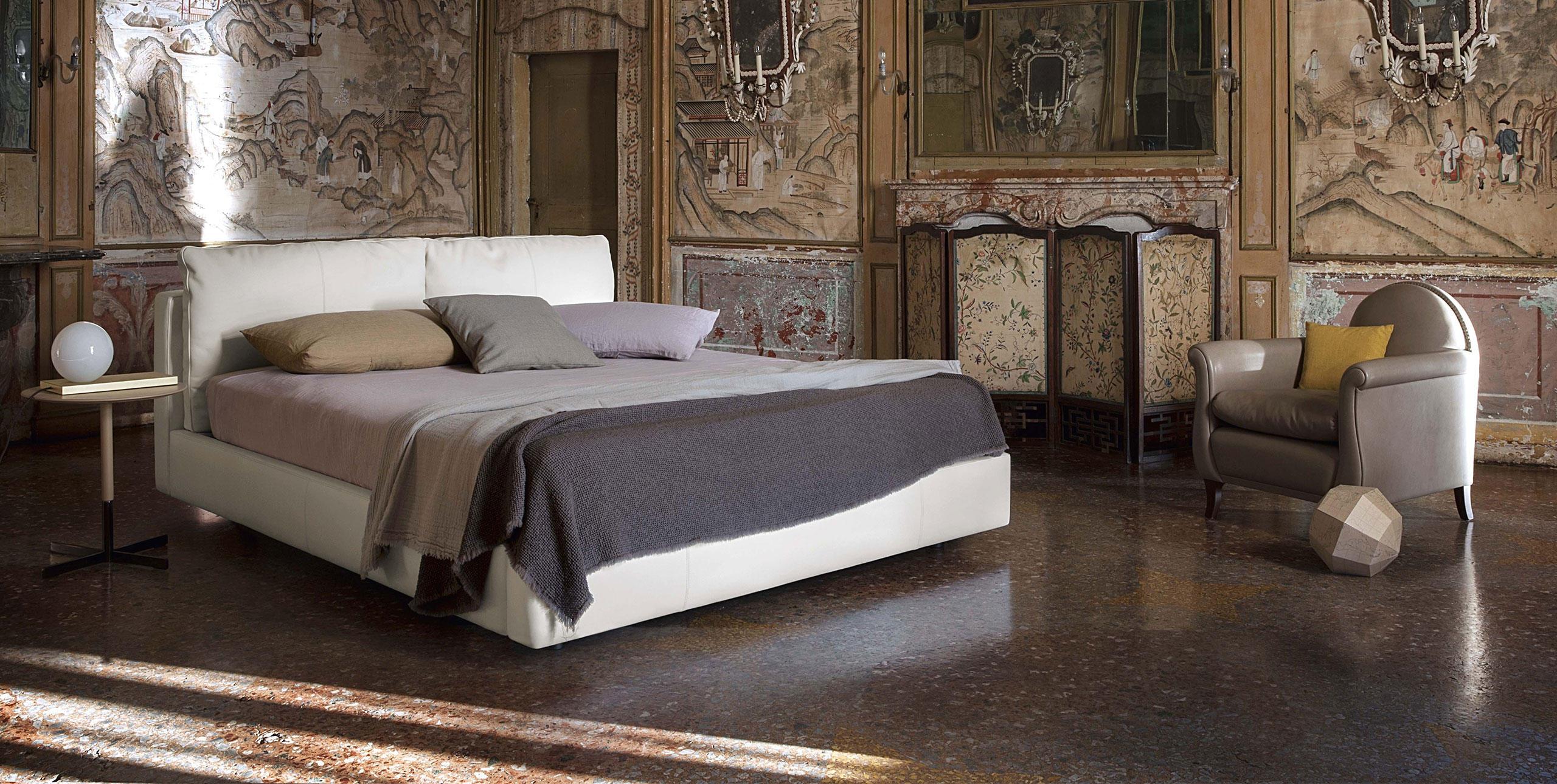 Letto Massimosistema Bed Poltrona Frau R. & D. - Arredamento & design