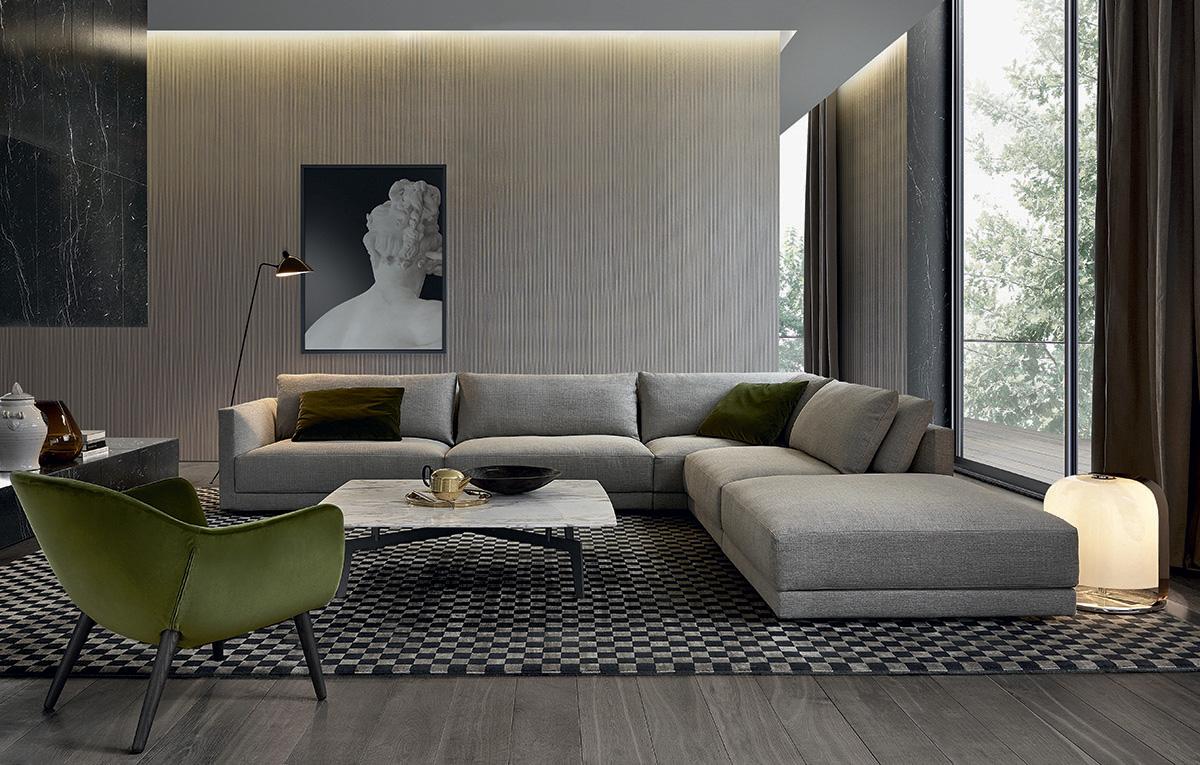 Divano Bristol di Poliform Design Jean Marie Massaud - Arredamento ...