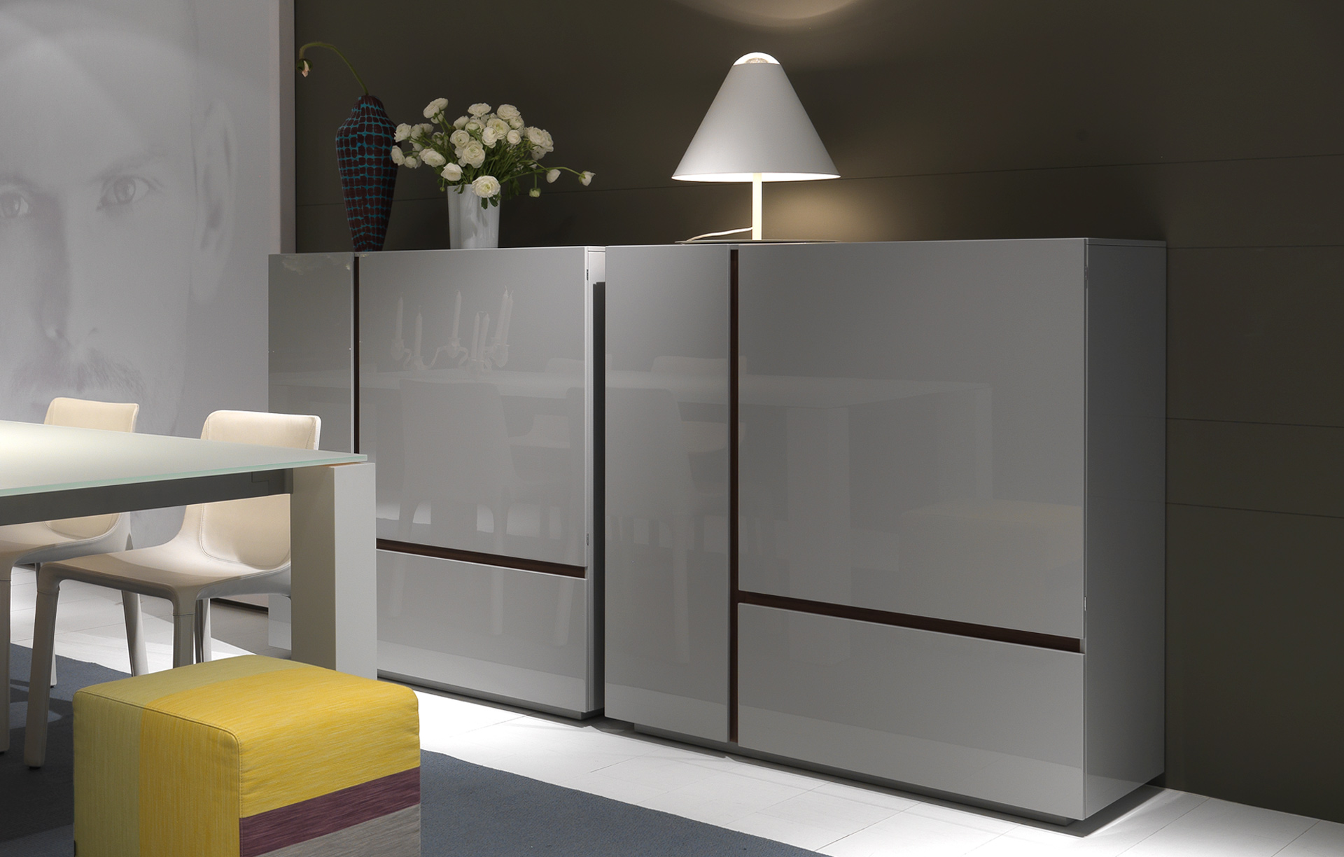 Madia free poliform design carlo colombo arredamento for Madie design online