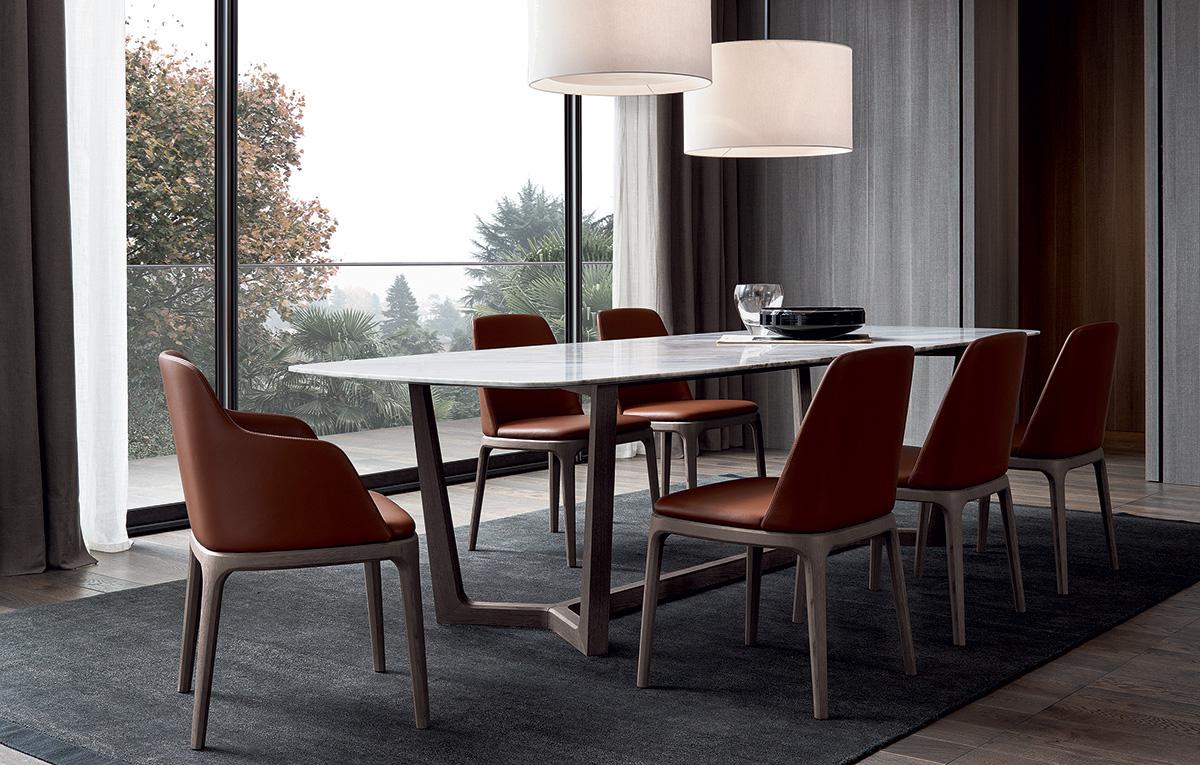 Albed Libreria Girevole Prezzo tavolo concorde - poliform design emmanuel gallina