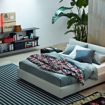 Letto massimosistema bed poltrona frau r d arredamento design - Letto poliform jacqueline ...