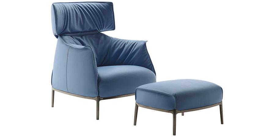 Poltrona Archibald di Poltrona Frau Design Jean Marie Massaud ...