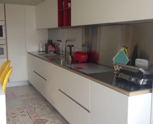 Arredatore interni zona giorno di un appartamento Mosca - cucine Varenna - Artex Design CR-S Varenna vista