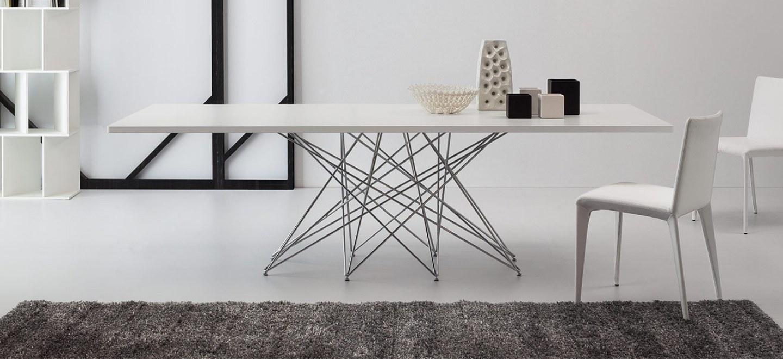 Tavolo octa di bonaldo design bartoli design arredamento - Tavolo account bianco ...