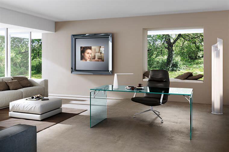 Specchio caadre tv di fiam design philip starck for Specchio philippe starck