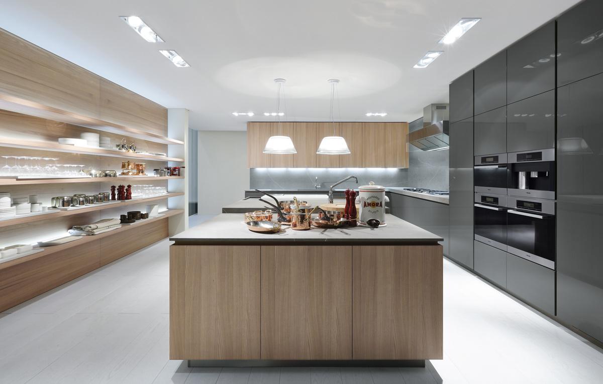 Cucina artex di poliform design cr&s varenna arredamento & design