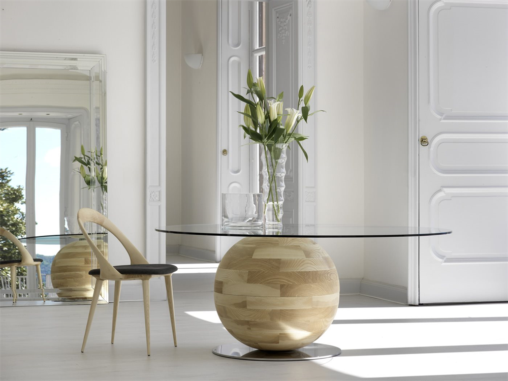 Tavoli Da Pranzo Design : Tavolo gheo k di porada design e missaglia arredamento design