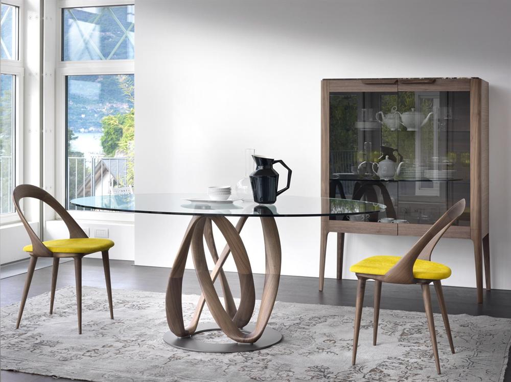 Tavoli In Cristallo Prezzi.Tavolo Infinity Di Porada Design Stefano Bigi Arredamento Design