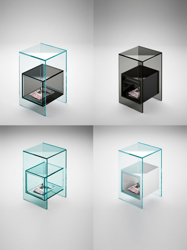 Tavoli Cristallo Allungabili Fiam.Magique Fiam Italia Tavolino Vetro Cristallo Coffee Side Table Glass