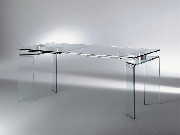 Tavoli Cristallo Allungabili Fiam.Tavolo Ray Plus Di Fiam Design Bartoli Design Arredamento Design