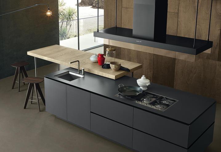 Cucina Artex di Poliform Design CR&S Varenna - Arredamento & design