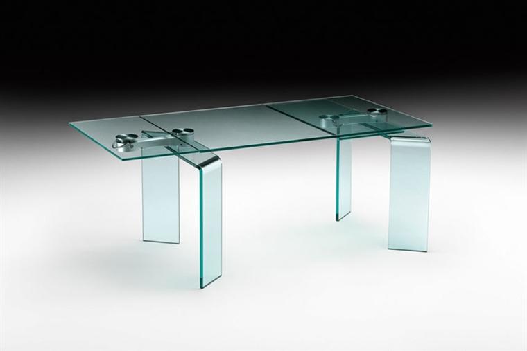 Tavoli In Cristallo Allungabili Reflex.Tavolo Ray Plus Di Fiam Design Bartoli Design Arredamento Design