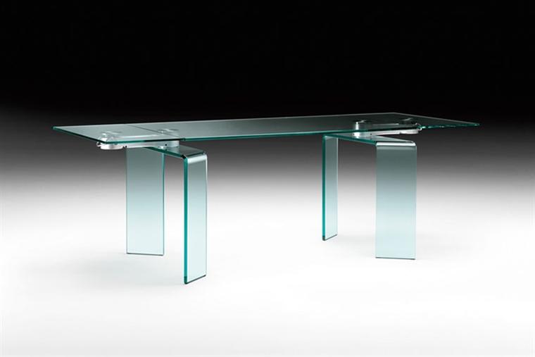 Tavoli In Cristallo Fiam.Tavolo Ray Plus Di Fiam Design Bartoli Design Arredamento Design