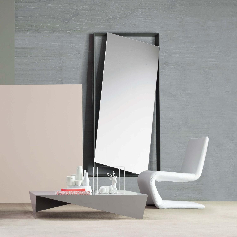 Specchio Parete Struttura Legno Obel Bonaldo : Specchio hang up di bonaldo design andrea lucatello