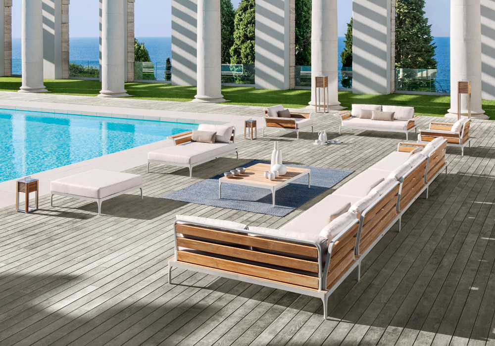 arredo per esterni verande giardini piscine arredo luxury outdoor. Black Bedroom Furniture Sets. Home Design Ideas
