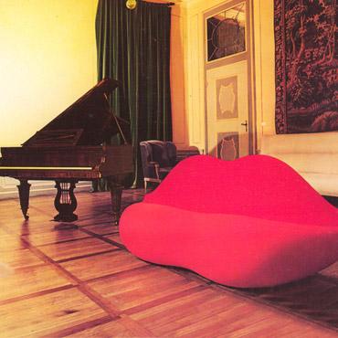 Divano Labbra Di Mae West.Divano Bocca Di Gufram Design Studio 65