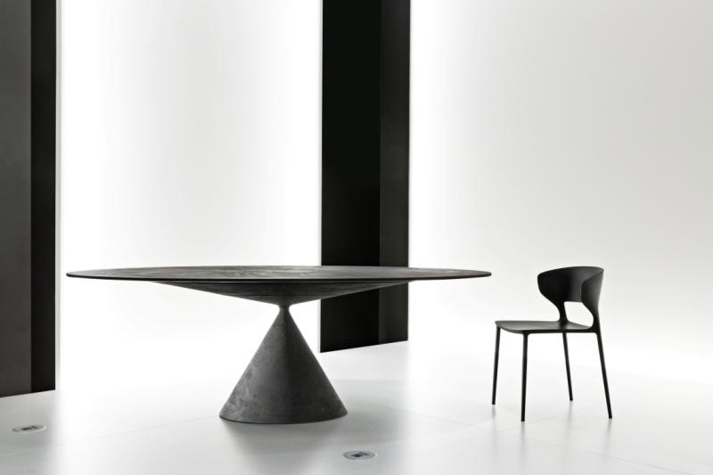 Tavolo Ovale Clay Sedia Koki Desalto Arredamento Design