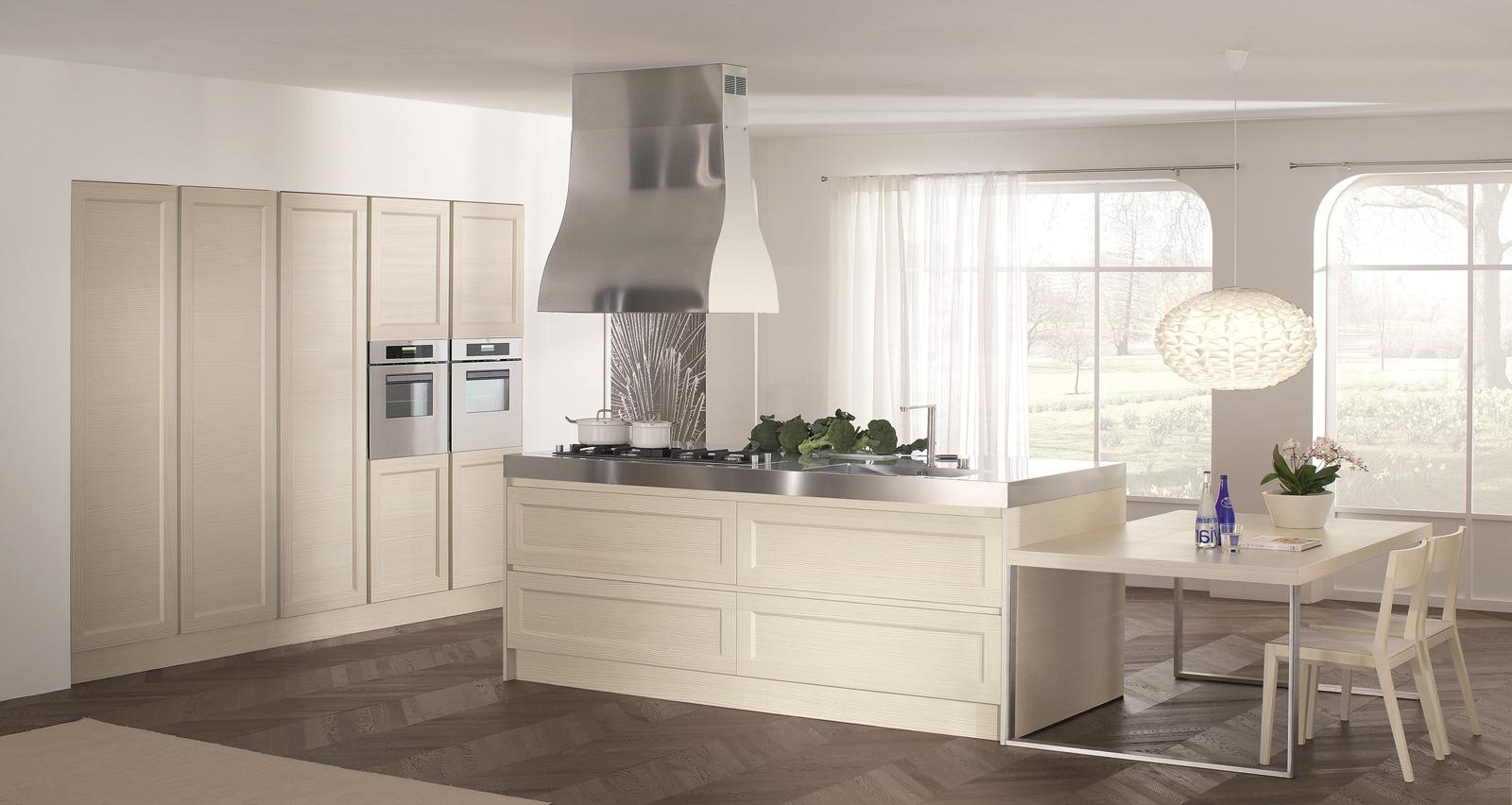 Cucina Con Isola In Legno Scorrevole Interior Design : Cucina glamour di doimo design romano giacomazzi
