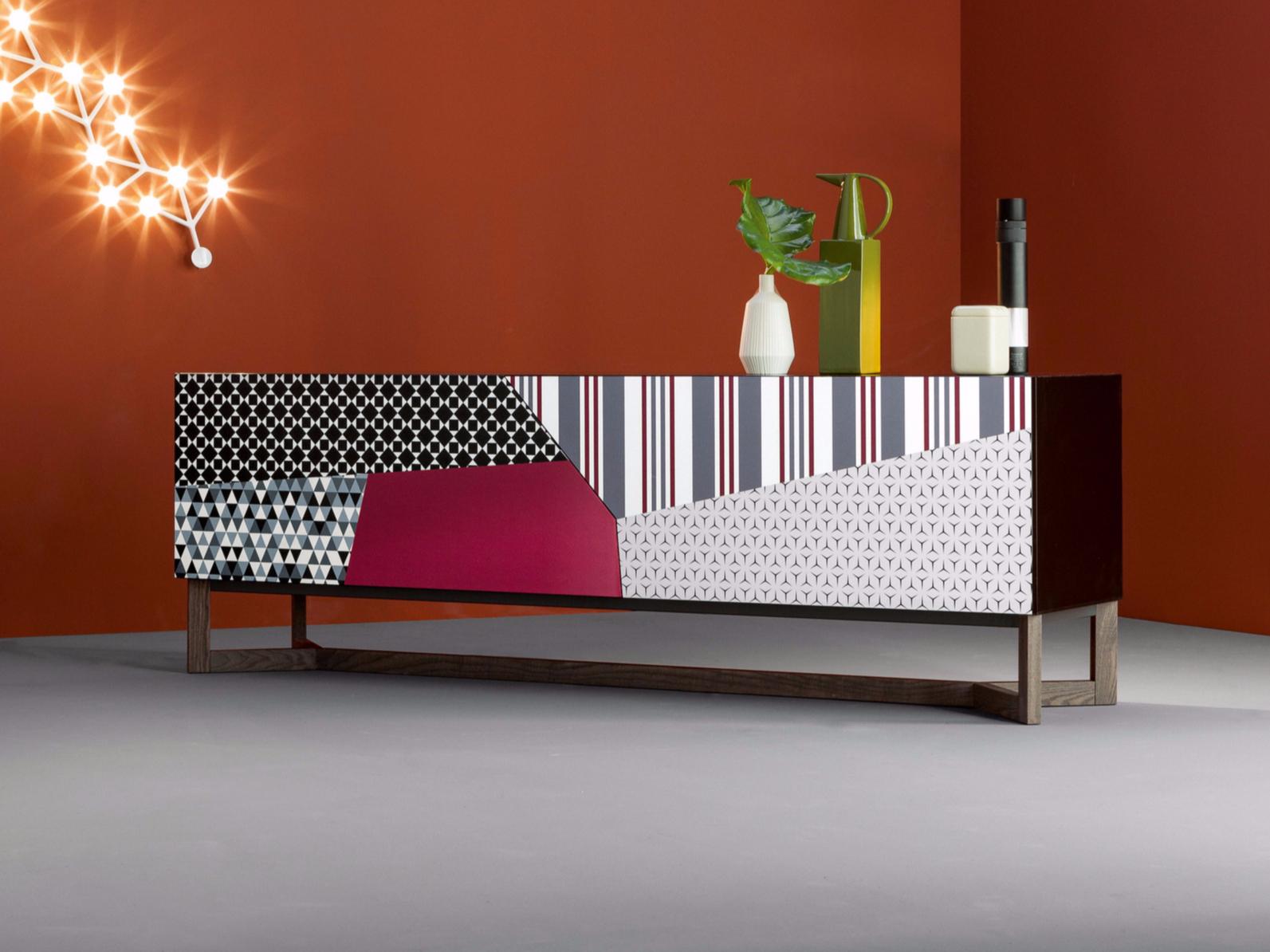 Madia doppler sideboard di bonaldo design giuseppe vigan for Madia design