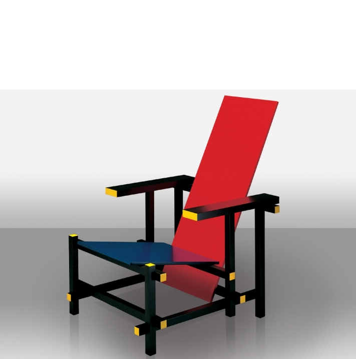 Poltrona red and blue di esedra by prospettive design g t for Sedia misure