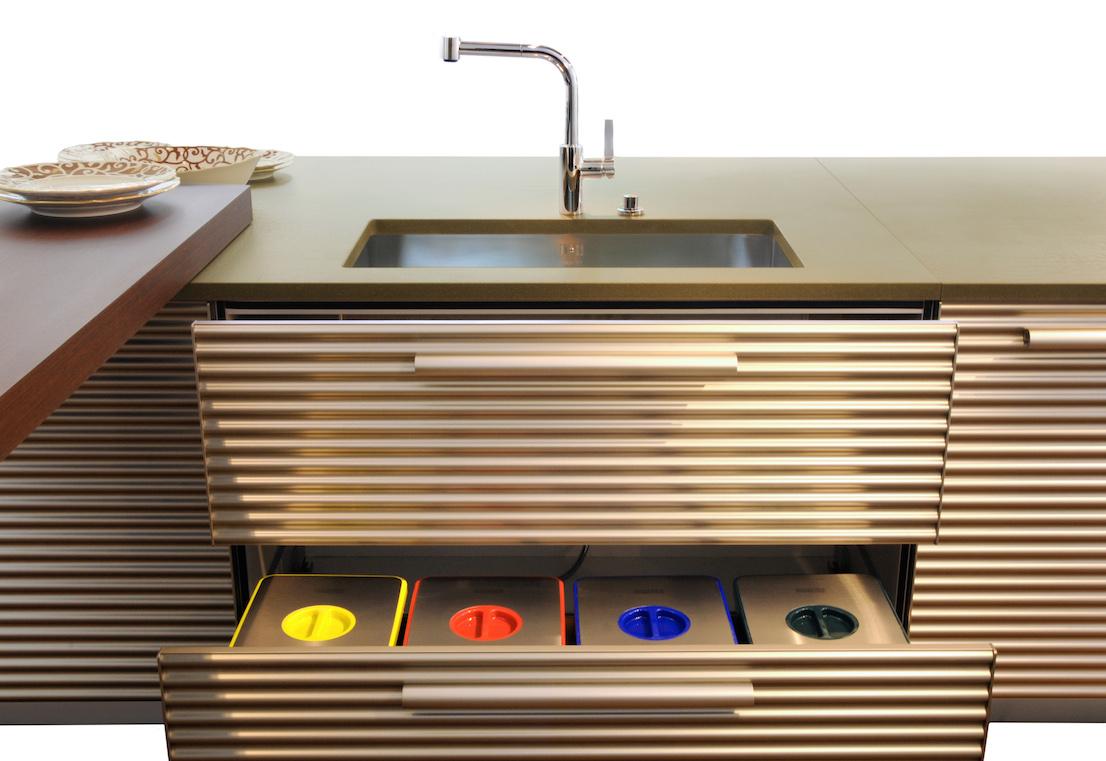 Cucina Cinqueterre di Schiffini Design Vico Magistretti ...