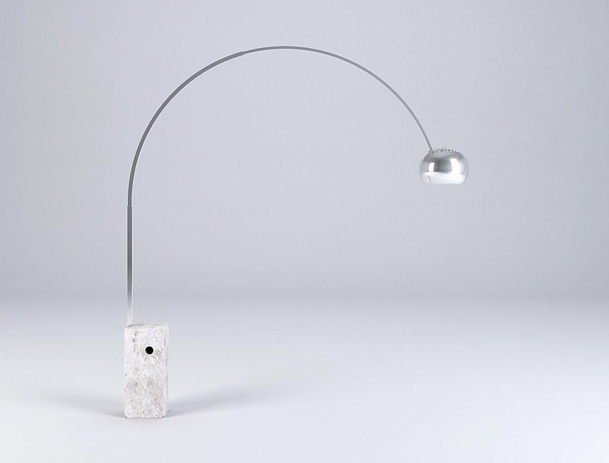 Lampada Arco Design Achille Castiglioni Sigerico