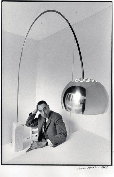 Lampada arco di esedra by prospettive design achille for Lampada arco