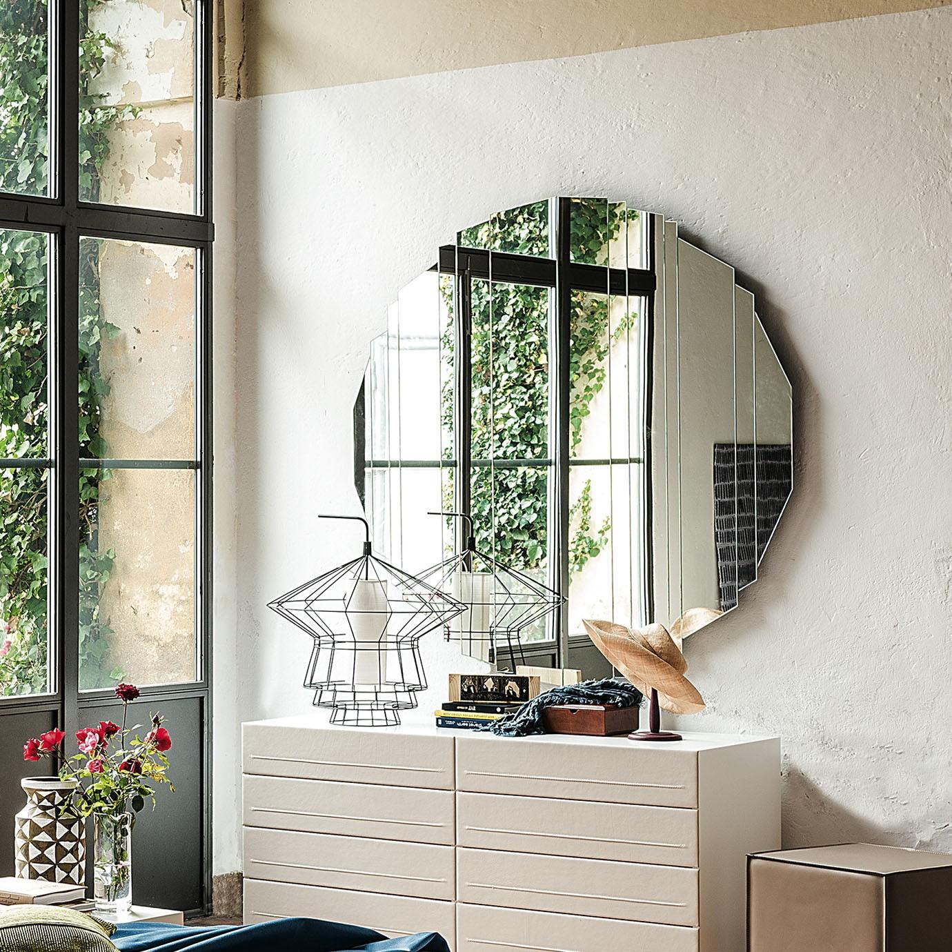 Specchio stripes di cattelan design paolo cattelan - Specchio da camera ...
