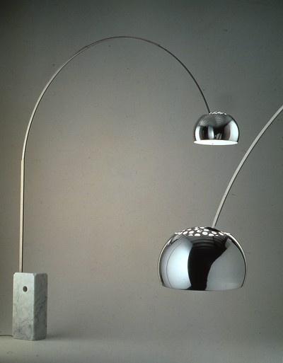 Lampada Arco di Esedra by Prospettive Design Achille Castiglioni ...