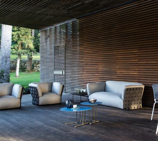 Tavoli E Sedie Da Giardino Obi.Collezione Obi Di Varaschin Design Toan Nguyen Arredamento Design
