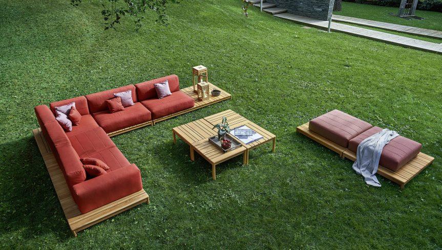 Collezione barcode di varaschin design alessandro dubini - Magico tocco divano ...