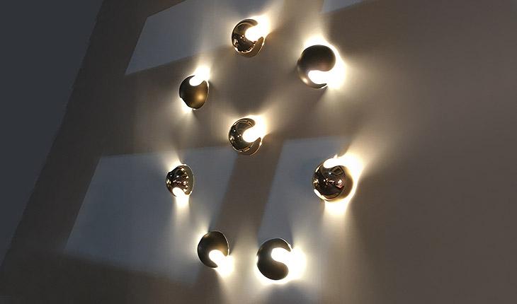 Applique pop di penta light design umberto asnago arredamento