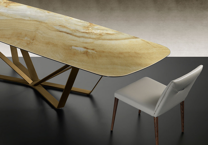 Reflex Arredamento Tavoli.Tavolo Papillon 72 Di Reflex Design Arnaldo Gamba