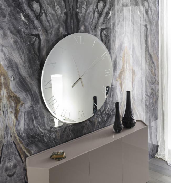 Orologio da parete Titanium di Reflex Design Reflex - Arredamento ...