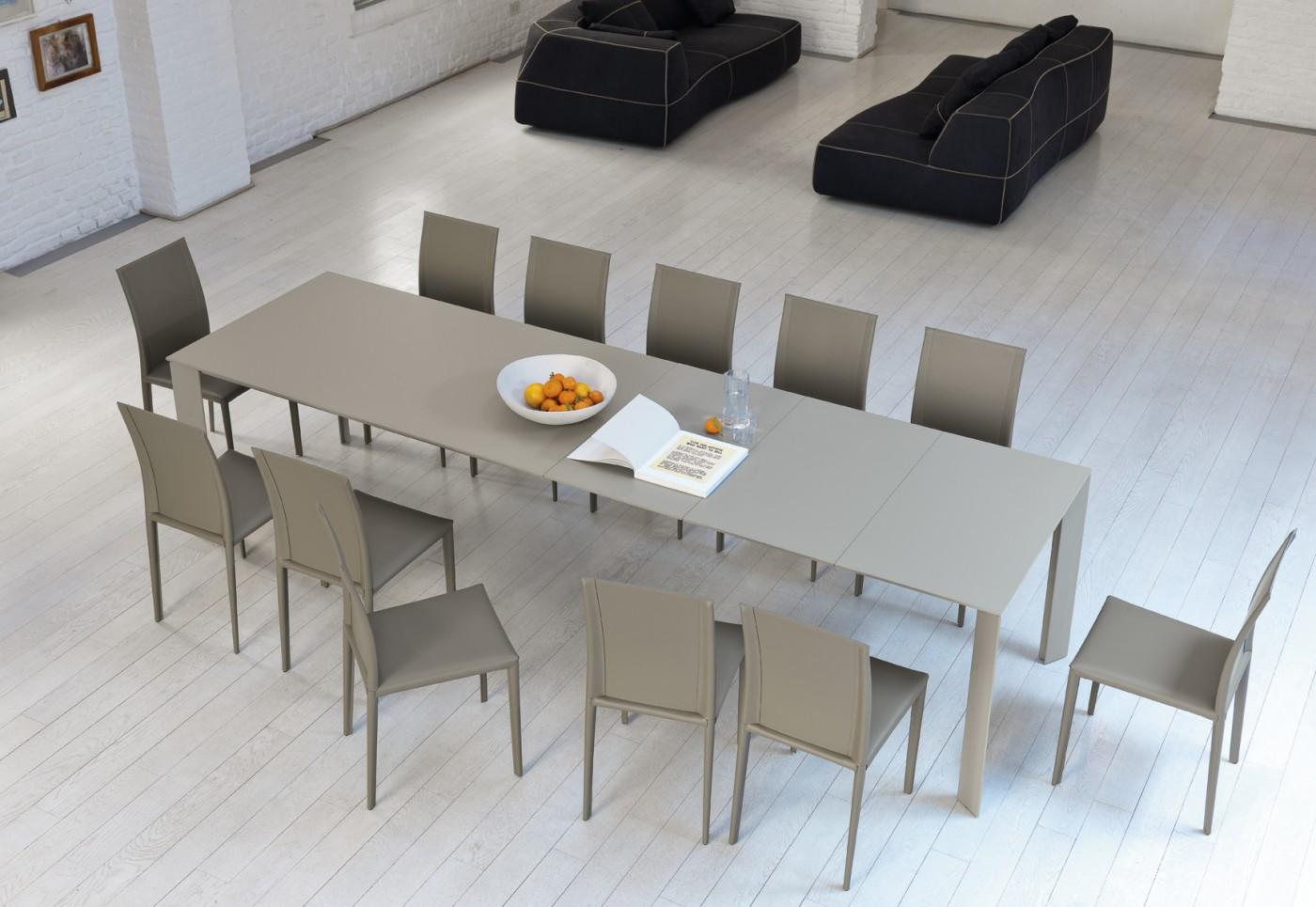 Tavolo allungabile ghedi midj design studio kappa - Progetto tavolo allungabile ...