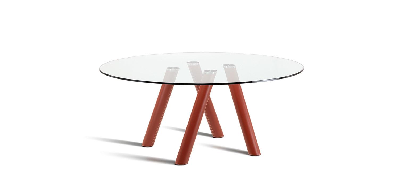 Tavolo ray cattelan tondo 4 arredamento design - Dimensioni tavolo tondo 4 persone ...