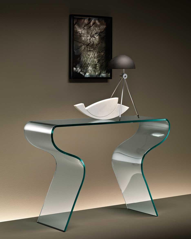 Consolle charlotte fiam italia design prospero rasulo for Consolle di design