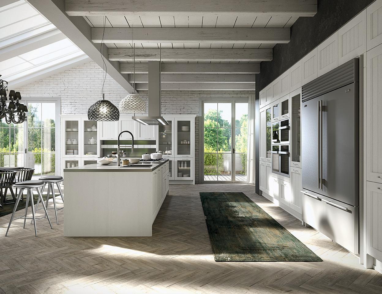 Opinioni Su Arrital Cucine cucina arrital modello village american mood - arredamento