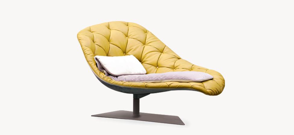 bohemian chaise longue di moroso design patricia urquiola arredamento design. Black Bedroom Furniture Sets. Home Design Ideas