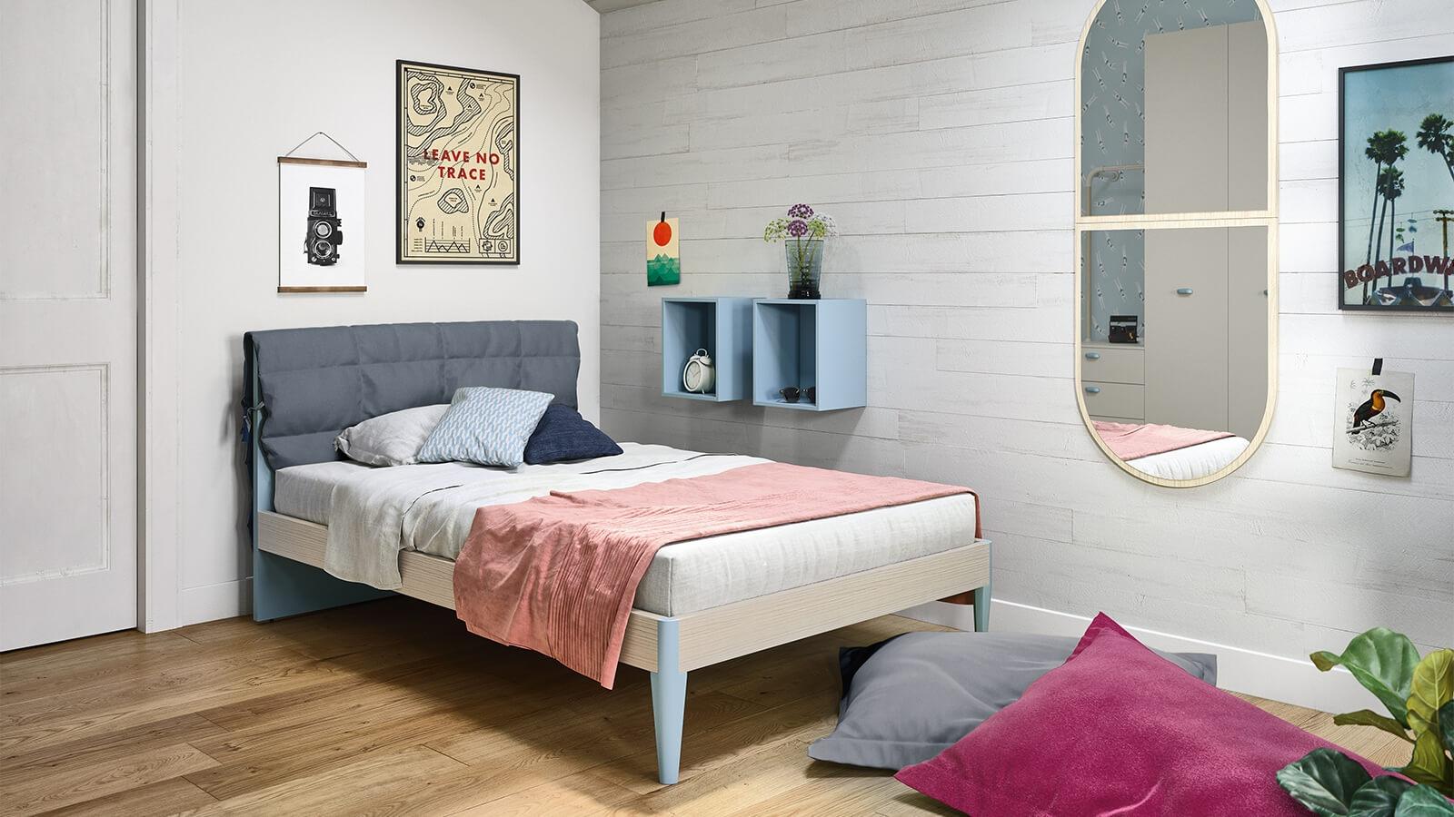 Cameretta teens nidi my beach arredamento design - Camere da letto per teenager ...