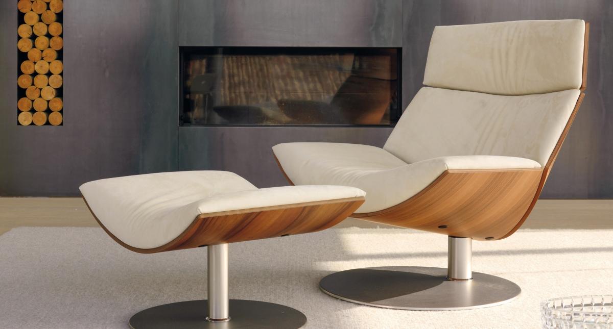 Poltrona kara di d sir e design marc sadler arredamento - Poltrona a dondolo di design ...