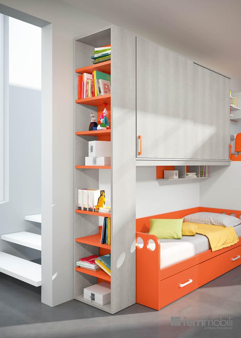 Cameretta ferri mobili composizione 709 arredamento design - Ferri mobili recensioni ...