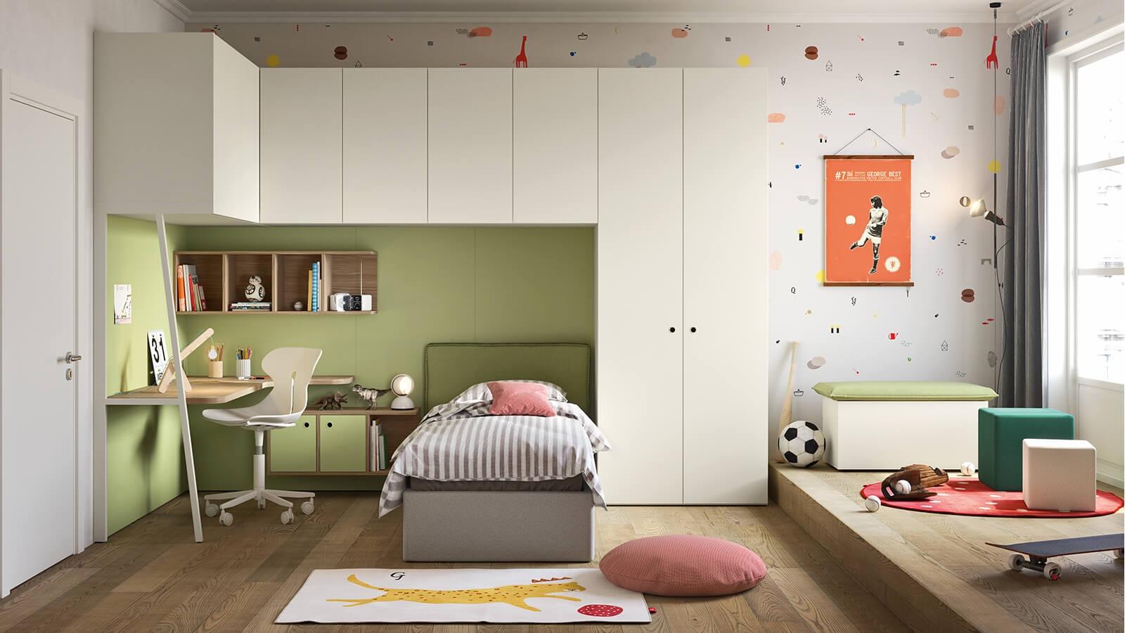 Idee camerette stanze per bambini suggerimenti arredo - Arredare una cameretta ...