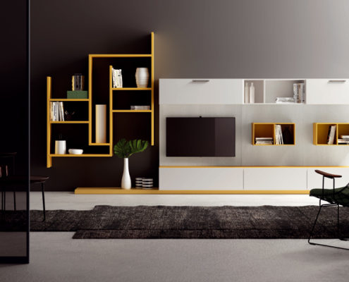 Pareti Attrezzate Moderne: Idee per Parete Attrezzata - Arredamento & Design