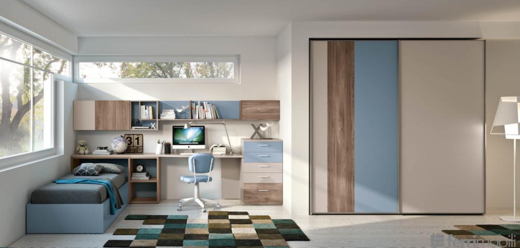 Idee camerette stanze per bambini arredamento design for Camere per bambini design